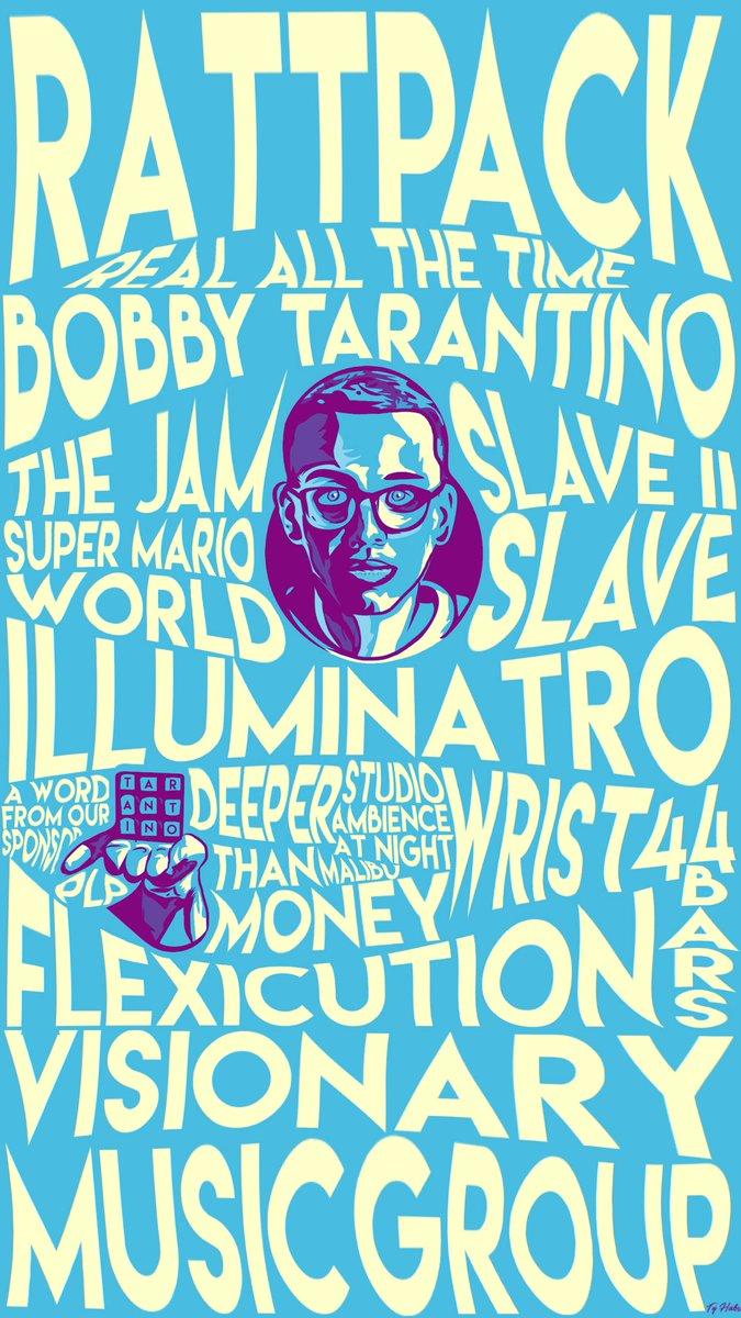 Ty On Twitter Logic Wallpaper Logic301 TeamVisionary RattPack BobbyTarantino PLP