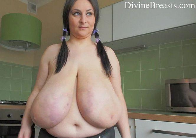 Alice divine breasts
