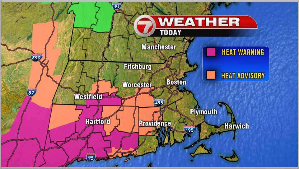Today Its Not The Heat Its The Humidity Boston News Weather - Humidity map of us