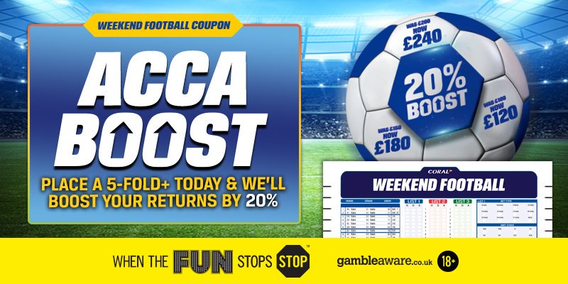 weekend football coupon