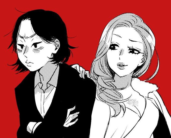 ヒロミちゃんとカヨコちゃんを描きました https://t.co/MaYZkJBGg0