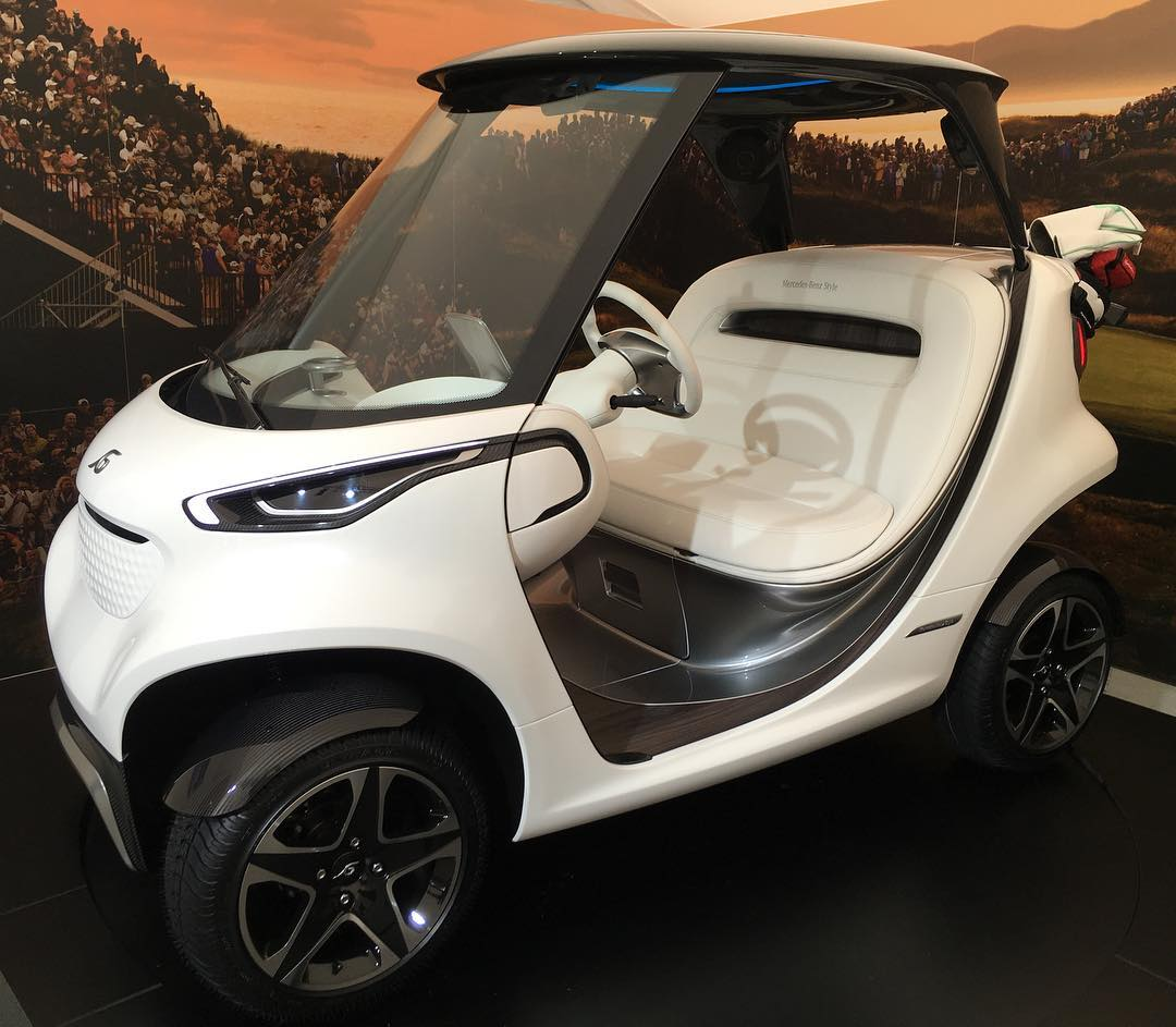 mercedes benz on twitter the mercedesbenz style garia golf car has reinvented the golf cart. Black Bedroom Furniture Sets. Home Design Ideas