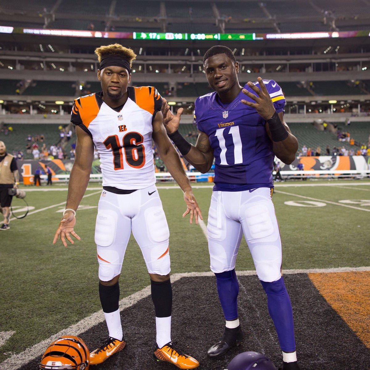 Two Legendary Rebels making their NFL debuts #TheNewWRU