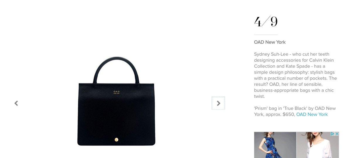 Oad On Twitter Harpersbazaarus Australia 9 Cool Affordable Handbag Brands That Aren T Mansur Gavriel