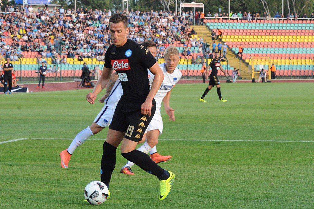 Video Hertha Berlino-Napoli 1-4 gol e ampia sintesi. Milik a segno