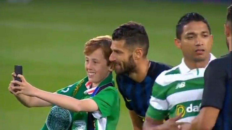 Eder e Candreva si presentano a De Boer. Inter-Celtic finisce 2-0