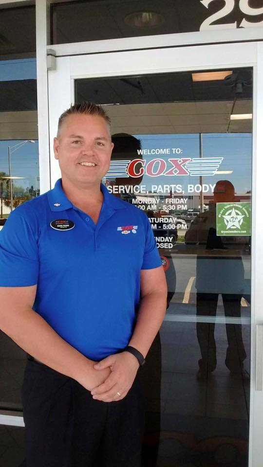 Cox Chevrolet Bradenton >> Cox Auto On Twitter John Rudd General Manager Of Cox