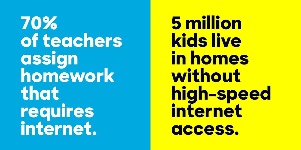 We need to make sure every American has high-speed internet access. And we will: https://t.co/jAszaFw1t3
