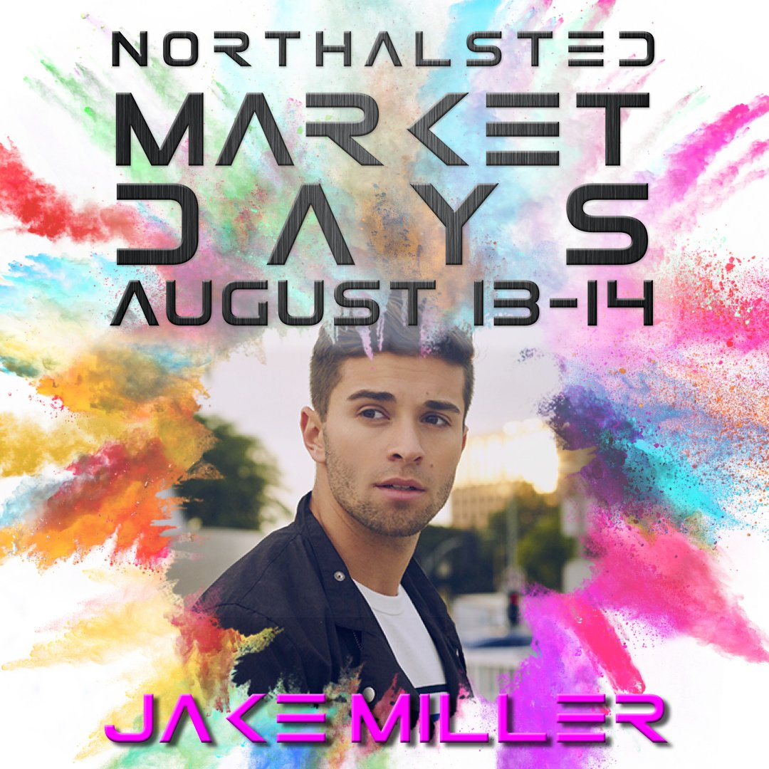 .@jakemiller goes on today at 1:30pm on the Nissan stage! We'll see you there! #MKTDays2016 https://t.co/vYsyM1AN1m