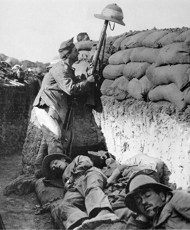 an introduction to the history of french and german soldiers in world war one Trench warfare is a type of land warfare using occupied fighting lines consisting largely of military trenches, in which troops are well-protected from the enemy's small arms fire and are substantially sheltered from artillery.
