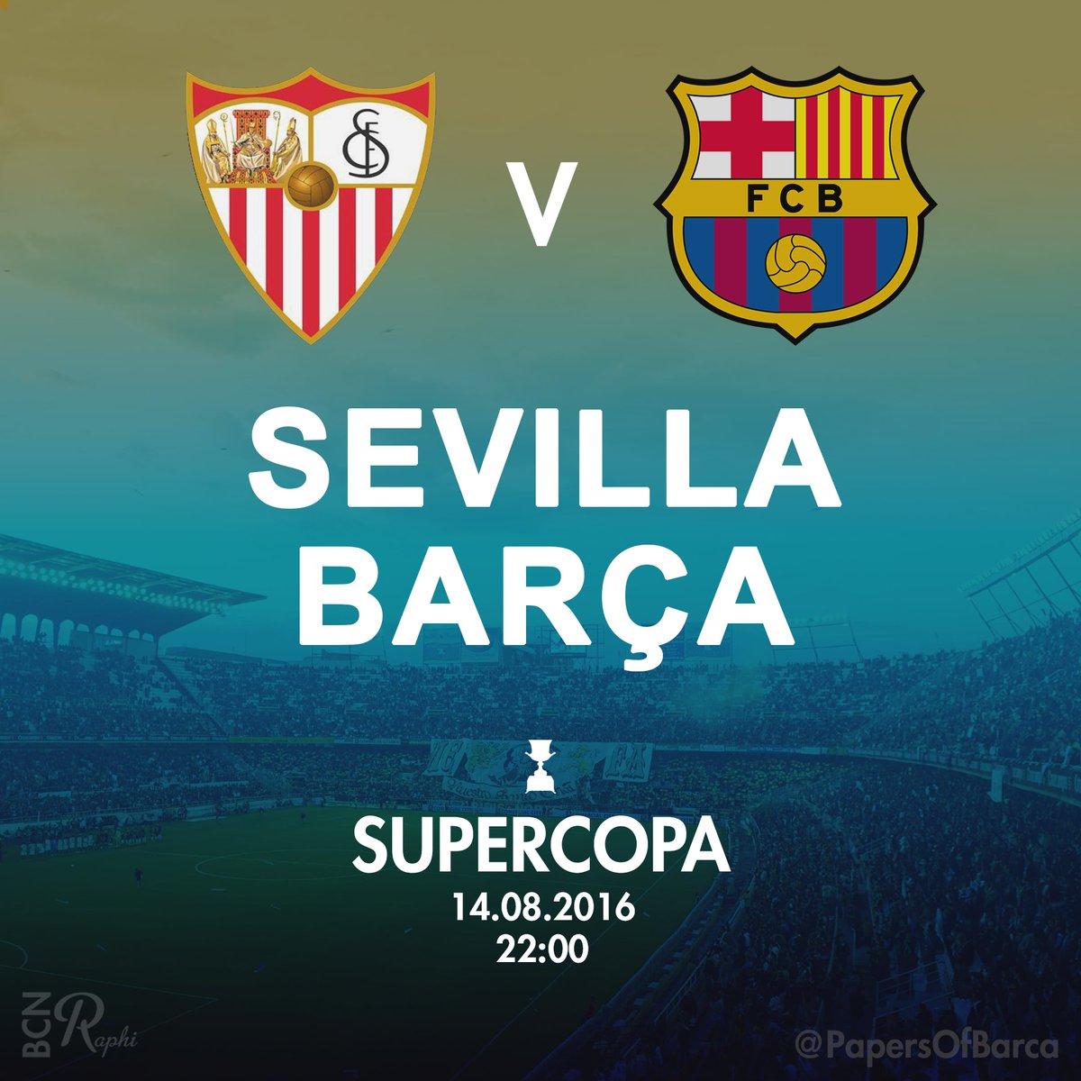 Supercopa, arriva il trionfo del Barcellona: 2-0 al Siviglia