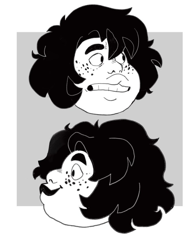 """some chill doodles of smoky quartz! #StevenUniverse #spoilers"""