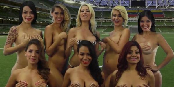 фото голых ведущих женщины