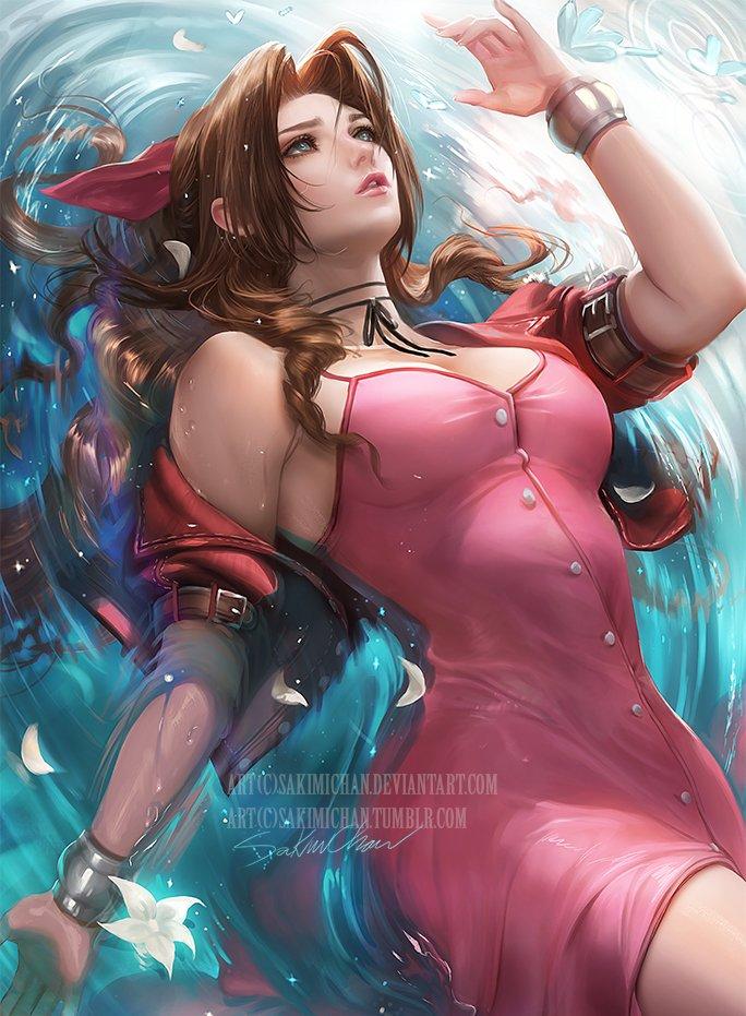 Final fantasy character nude