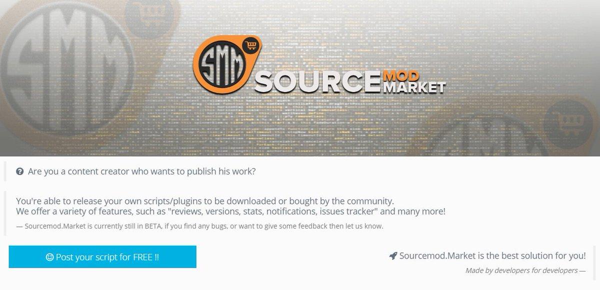 Sourcemod Market (@SourcemodMarket) | Twitter