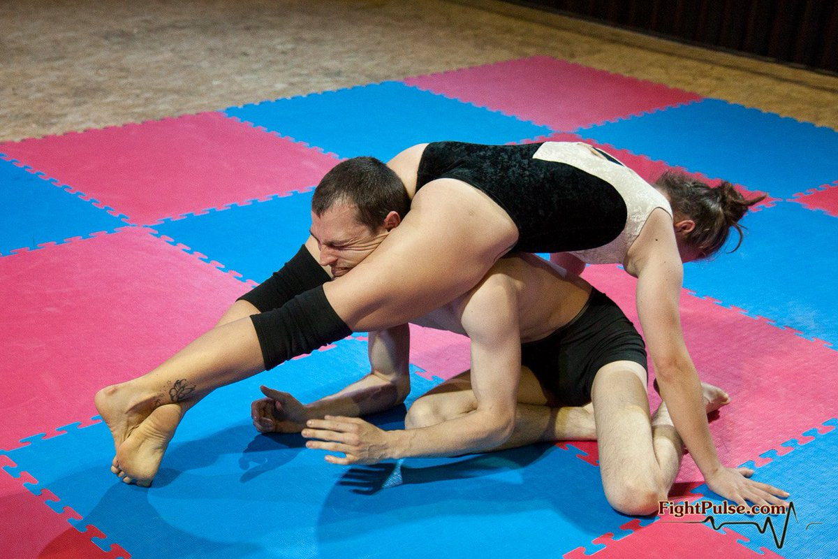 What is mixed wrestling