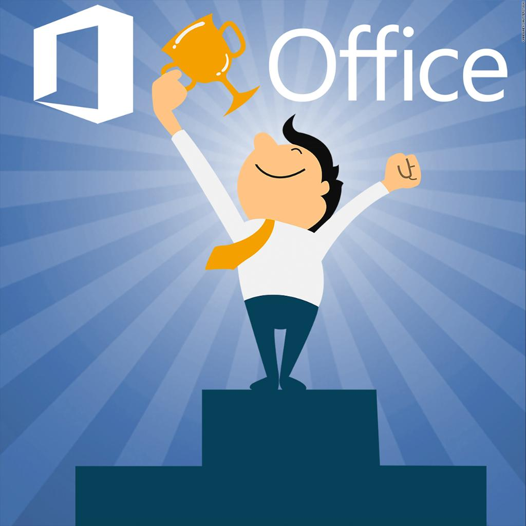 These world championships are like the Olympics, but for @Microsoft @Office: @heatherkelly