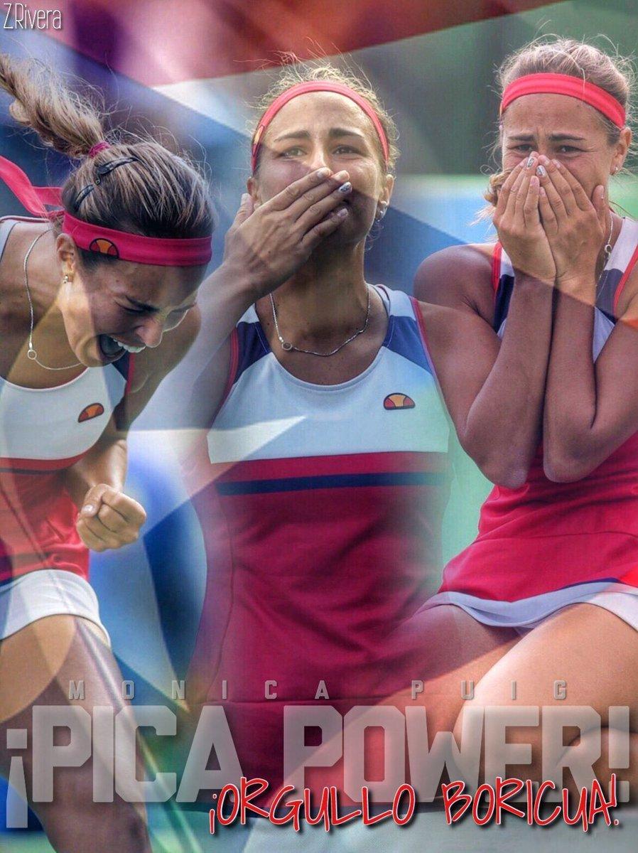 Viva Puerto Rico!! Viva el PicaPower. Primera medalla de Oro olímpica en la historia de Puerto Rico! https://t.co/y80pdcjNzM