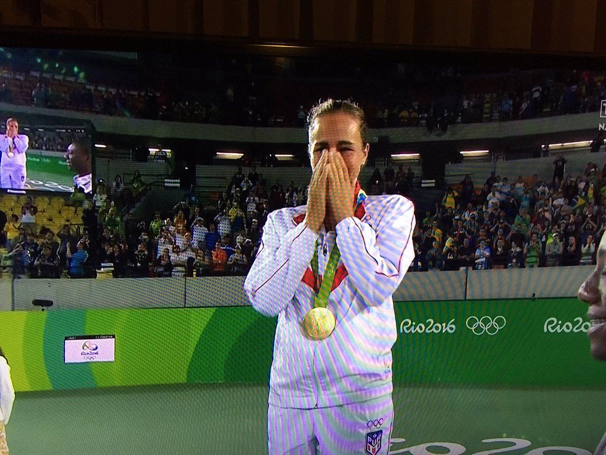 Monica Puig Makes Olympic History, Winning Puerto Ricos