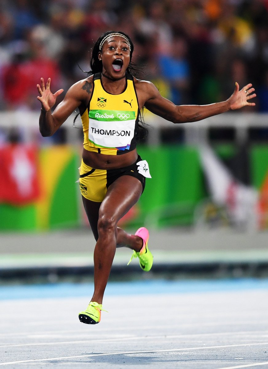 Jamaica's Elaine Thompson is the 'fastest woman in the world'