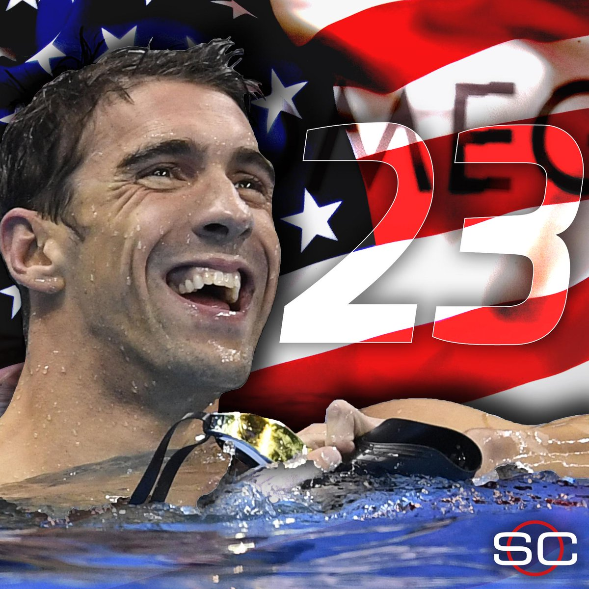 MICHAEL PHELPS FINISHES WITH A GOLD. #USA wins the Men's 4x100m Medley Relay to give the legend one final victory.