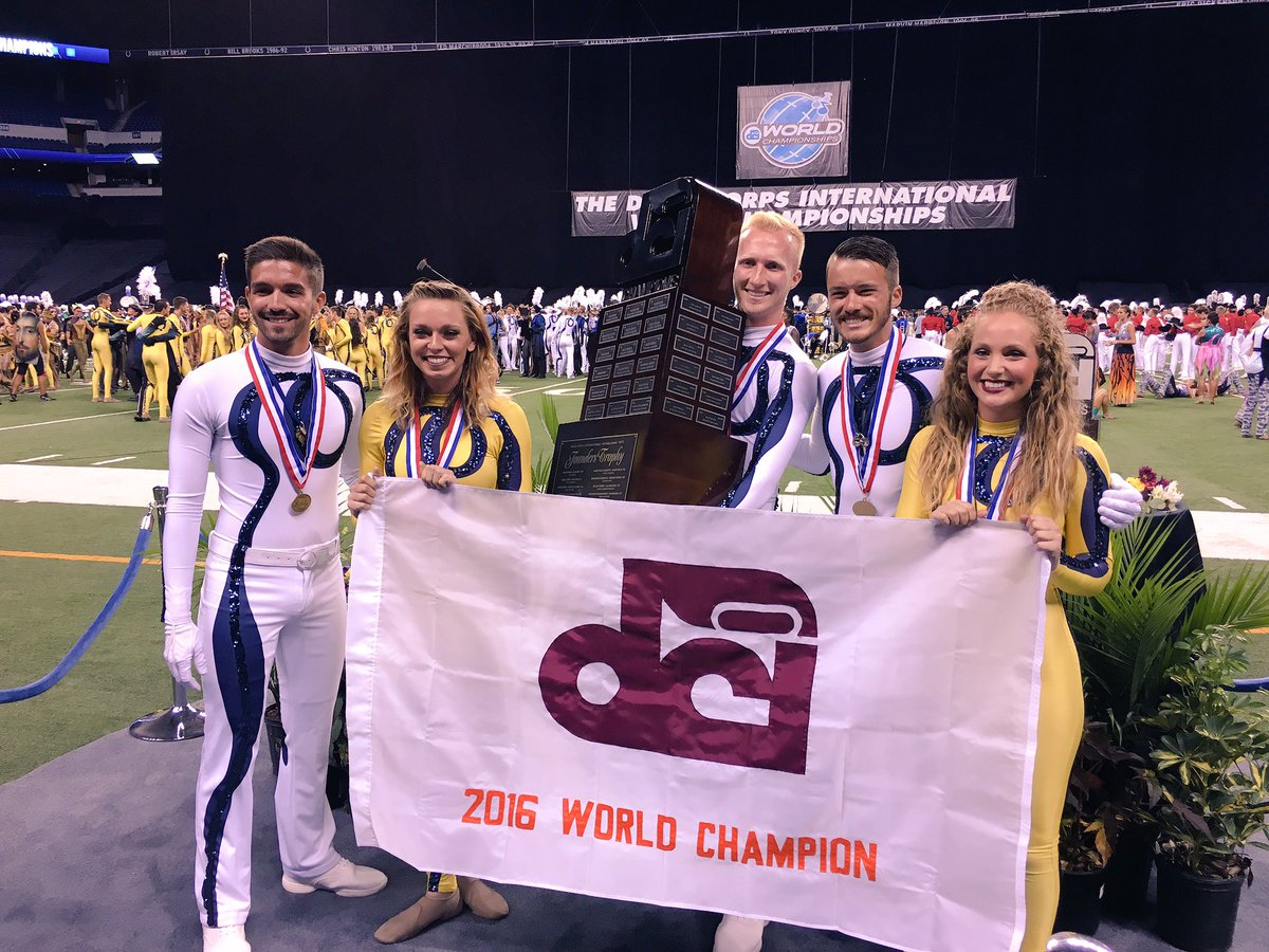 With a score of 97.650, your 2016 DCI World Champion, the @Bluecoats! https://t.co/8y3d8B3QNd