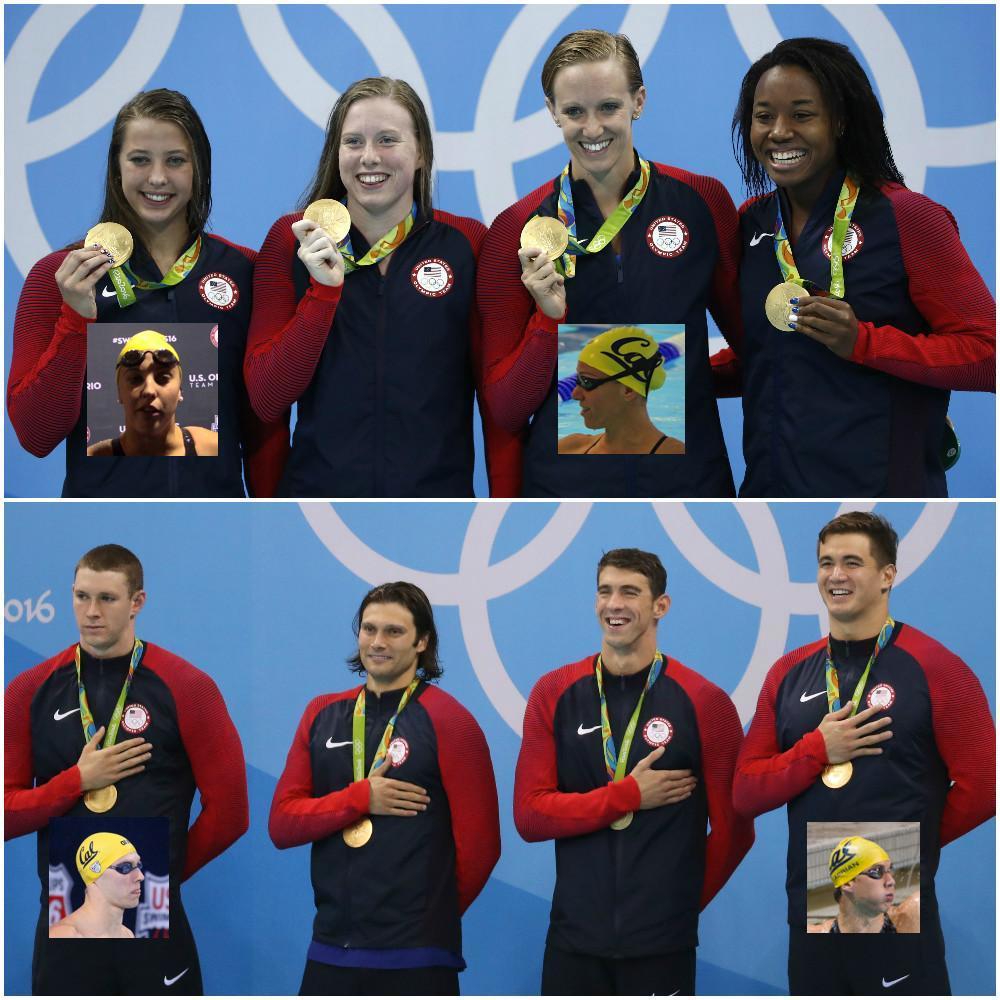Bears, Bears everywhere! #Swimming #Gold #Rio2016 https://t.co/St9k01rzET