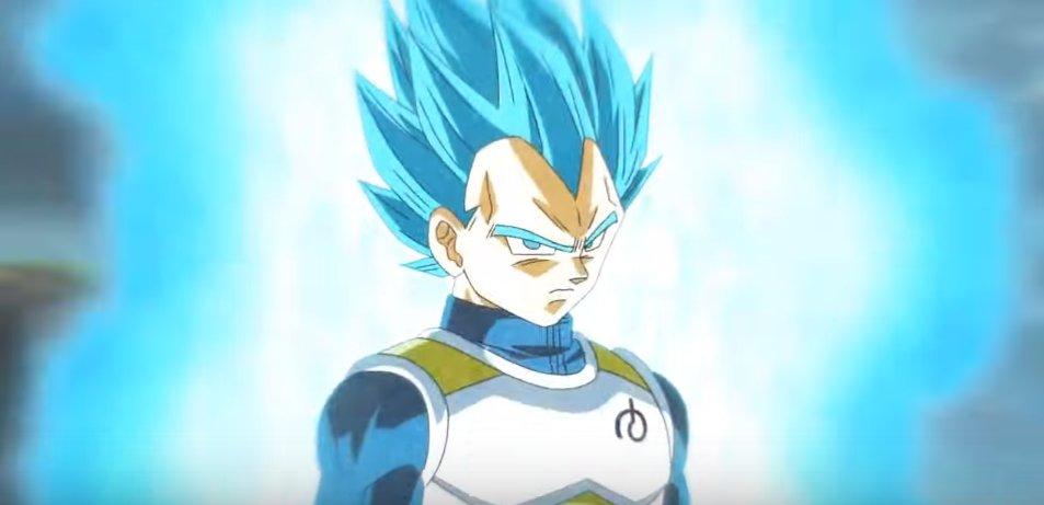 3位:スーパーサイヤ人ブルー ベジータ