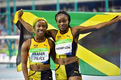 This is #TeamJamaica! From all of us, it's one love going out to our athletes tonight. #ReggaeRocksBrazil #JAM https://t.co/uNqiRKzyN9