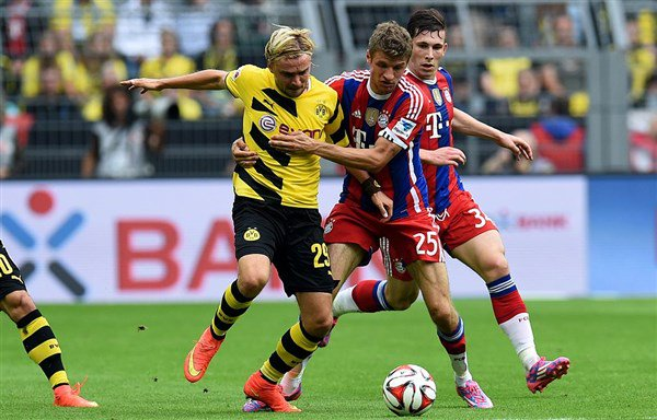 Dove vedere Borussia Dortmund-Bayern Monaco in Diretta TV e Streaming Gratis Video Online Rojadirecta