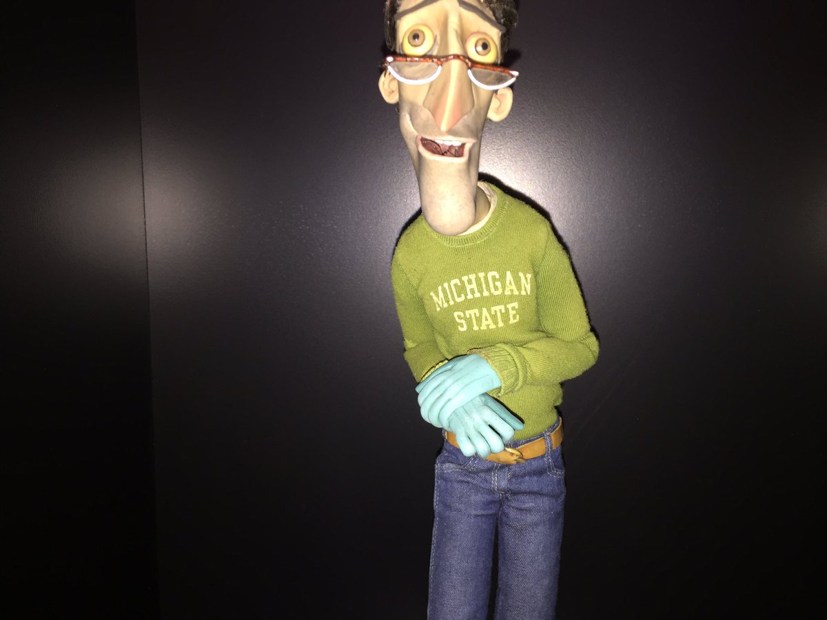 Robert F Hughes On Twitter I M Still Wondering How It S Possible That Coraline S Dad Went To Michigan State Coraline