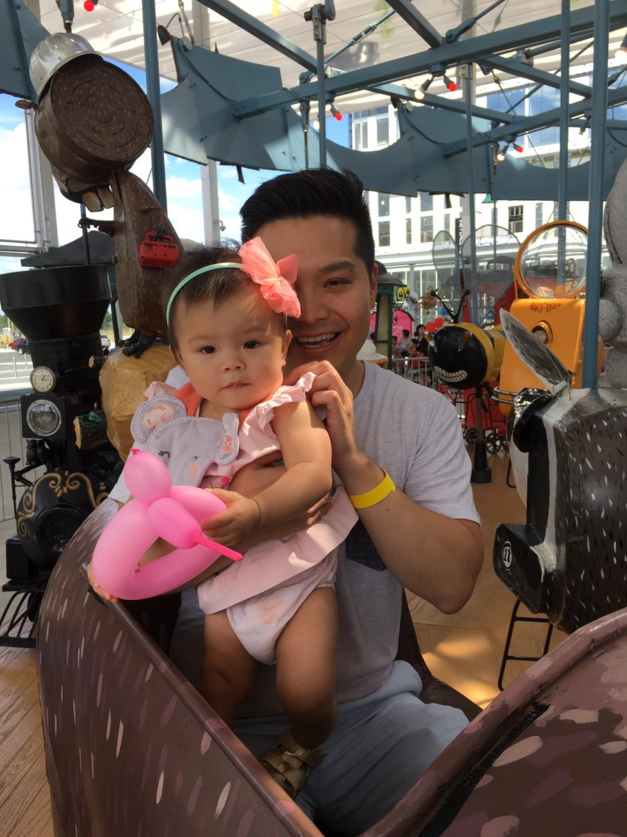 Downtown Markham Auf Twitter Sophia Is 1 Year Old And Hosting The First Ever Birthday Party At Prideofcanada Carousel Happy