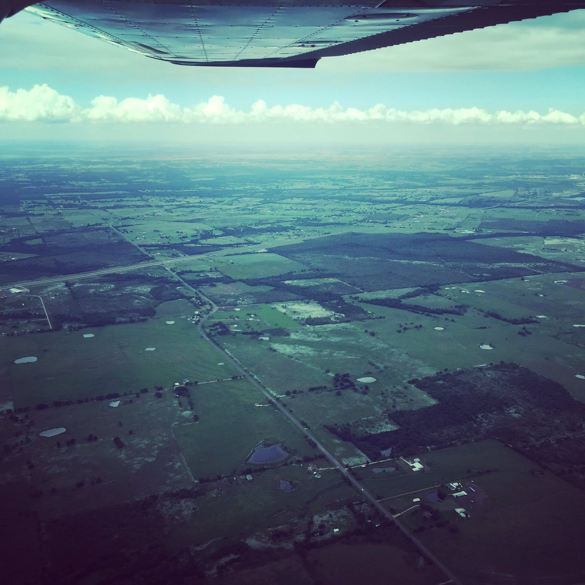 #Texas does just goes on and on... #ferryPILOT #FLYINGfriday #flying #pilotlife #arewethereyet<br>http://pic.twitter.com/8zVHxnnFuk &ndash; bij Redbird Skyport