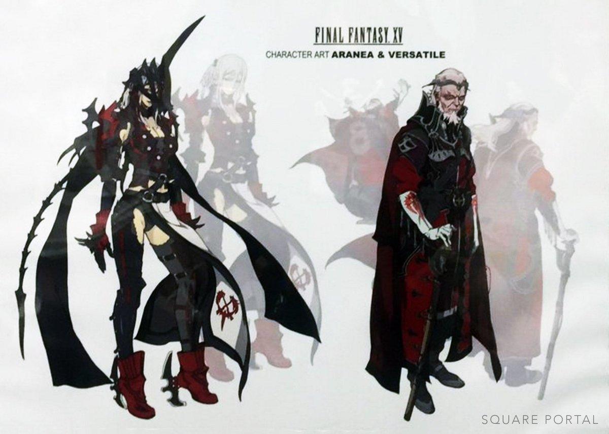 𝗦𝗤𝗨𝗔𝗥𝗘 𝗣𝗢𝗥𝗧𝗔𝗟 on twitter final fantasy xv character