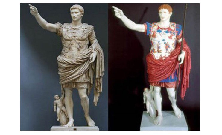 UV light reveals colour on Ancient Greek statues   https://t.co/aKorOPYDs6 #artsed #arted