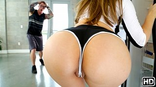 Lena paul, nathan red – caught in the shower