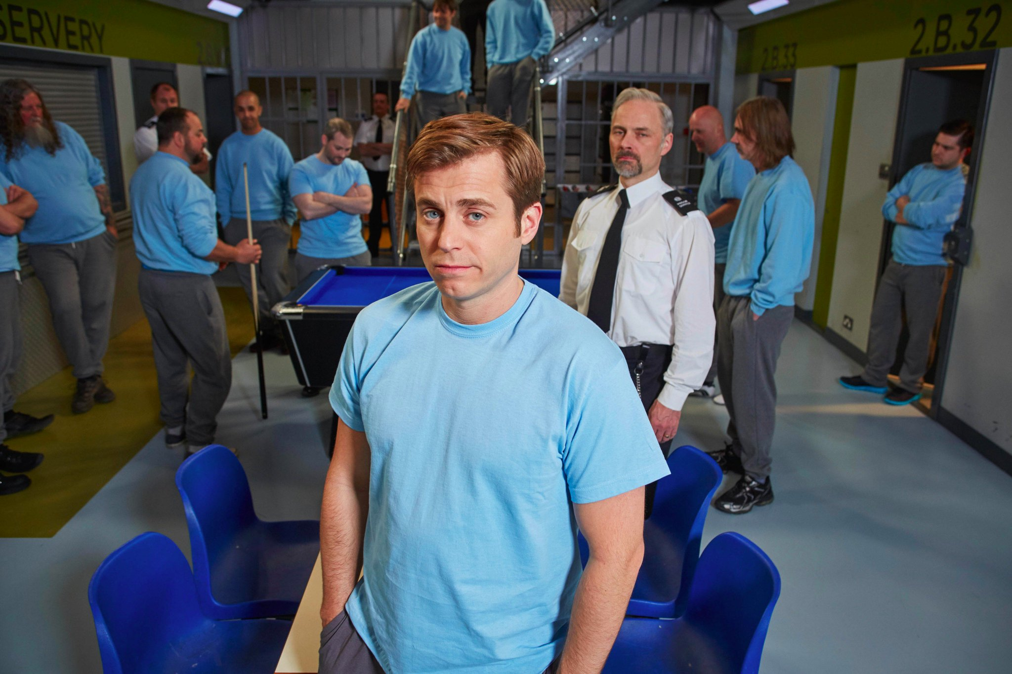 Enjoyed #AYBS? Stay tuned to @BBCOne. @IAMKEVBISH stars as Fletch's grandson, banged up for cyber fraud. #Porridge. https://t.co/o2Uk8D3WH9