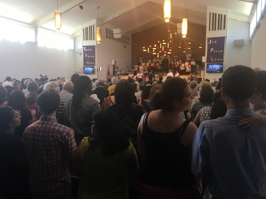 Not even standing room left at #MoralRevival movement event in DC. #LetJusticeRoll https://t.co/yn88pSmk6X