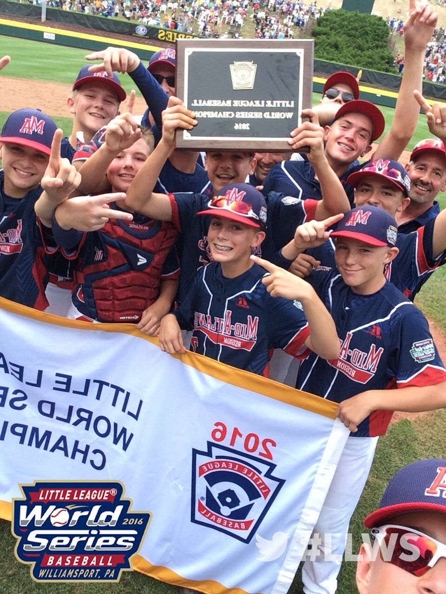 2016 World Series Champions! #LLWS! https://t.co/hz2kfTrNlv