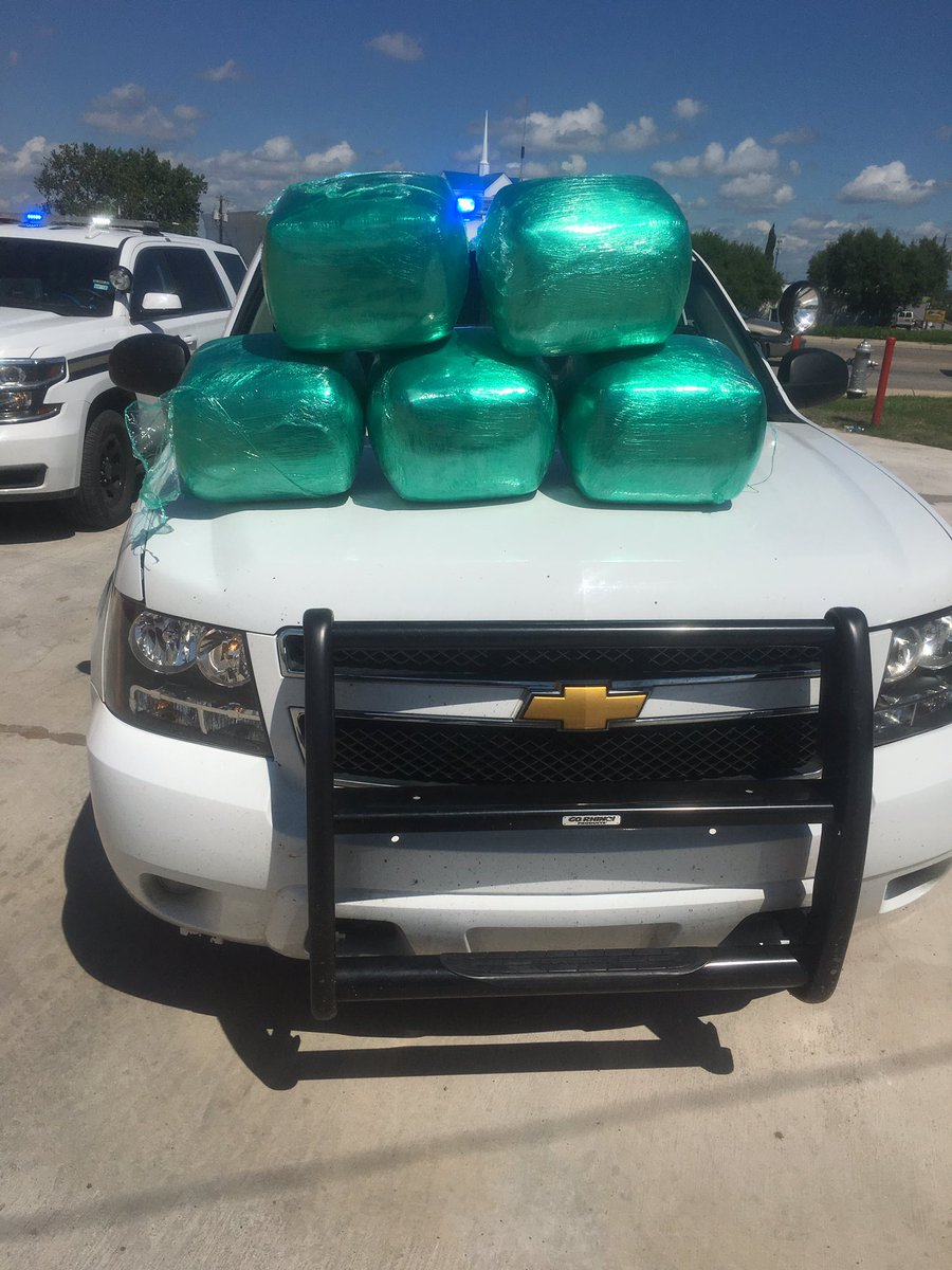 East patrol deputies find 80 lbs of pot during traffic stop today at New World & Walzem satx
