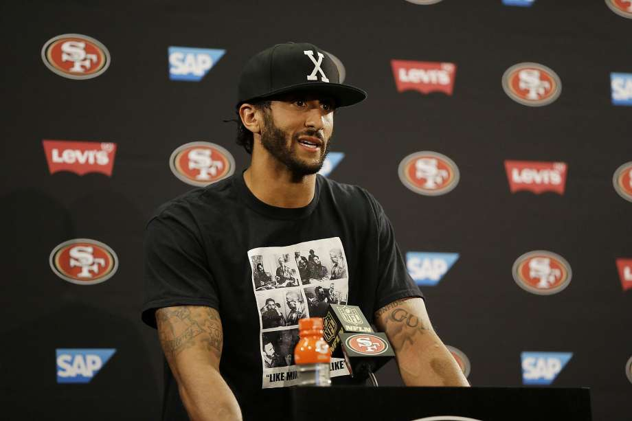Kaepernick on anthem: 'I'll continue to sit'