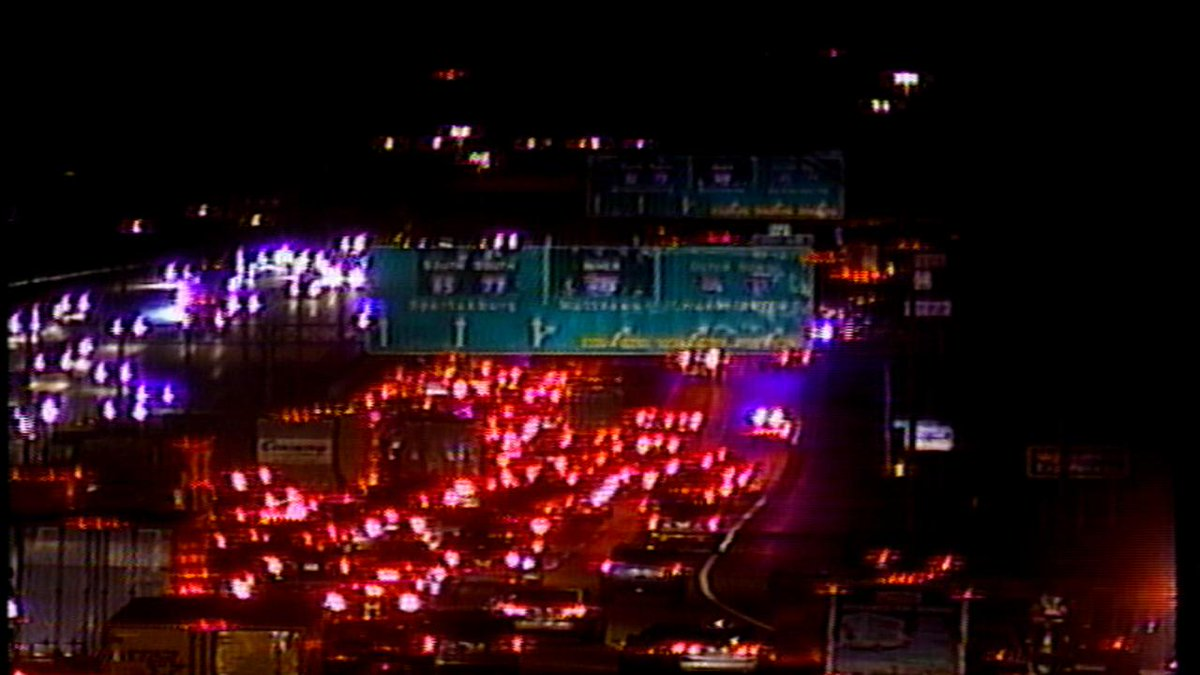 TRAFFIC ALERT: 5 of 6 lanes closed on I-85S at I-485- Exit 48. 1 person w/ life-threatening inj after wreck.