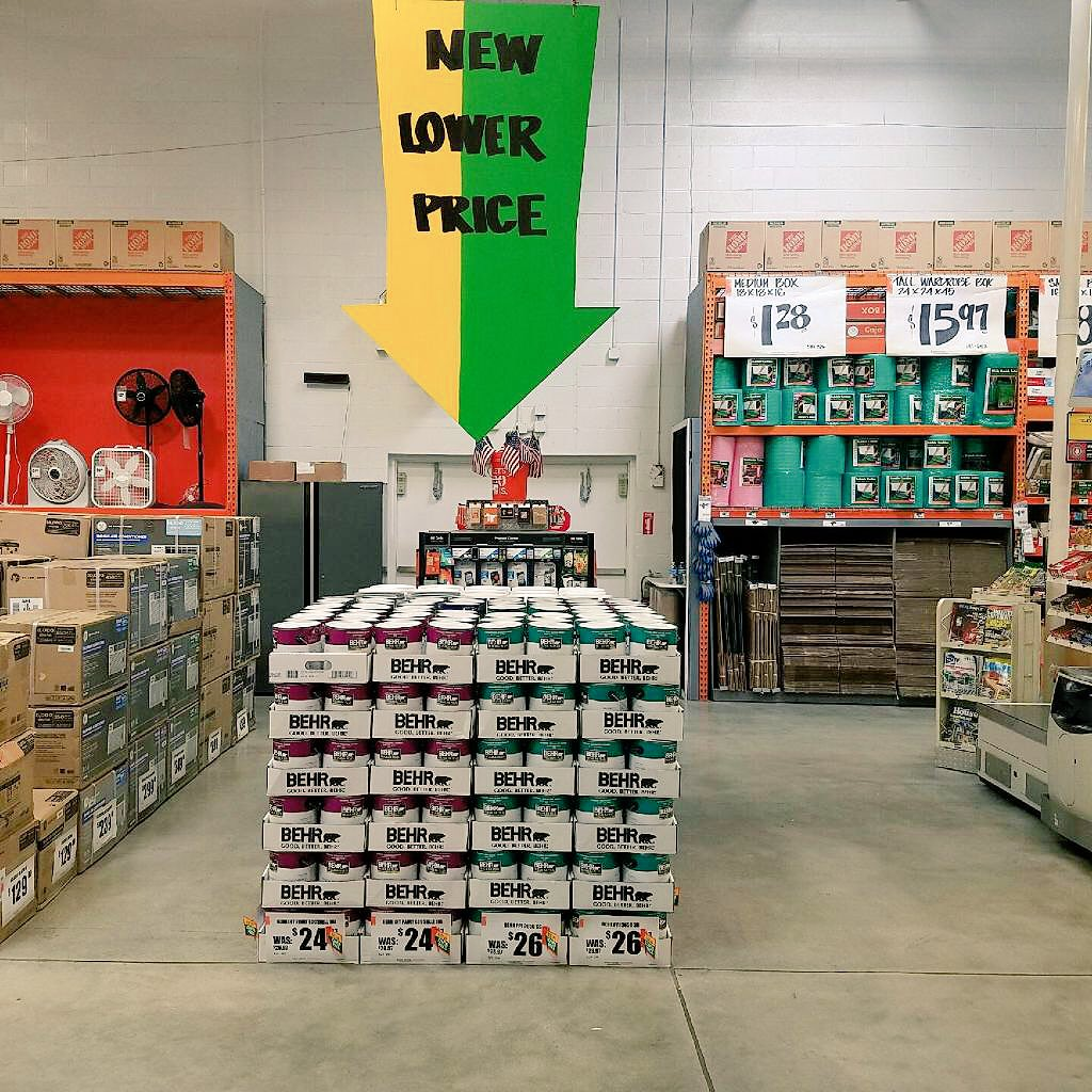 Kimberlyn On Twitter 284 Coral Springs Home Depot New Lower Price In Paint D24 Paint Depart