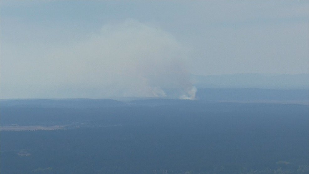 Thurston Co. choking on thick smoke from Lewis-McChord wildfire -