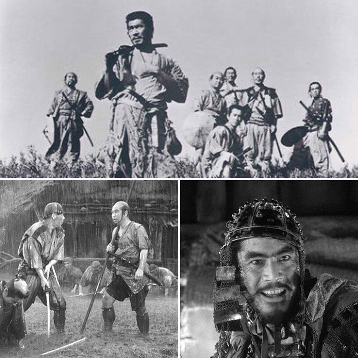 「七人の侍 」 言わずと知れた日本映画の最高峰。完全映画とはこの作品の事か。3時間半の長尺を感じさせない演出、カメラワーク、美術、リアリズム、アクション、スケールの大きさ、制作費、etc 。まさに空前絶後。 #1日1本オススメ映画 https://t.co/rJb6ilGwEx