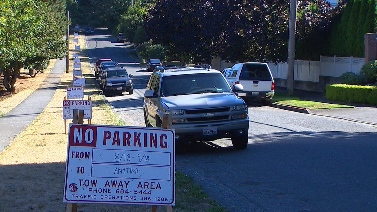 North precinct neighbors were upset that officers kept parking their personal vehicles in restricted spots komonews