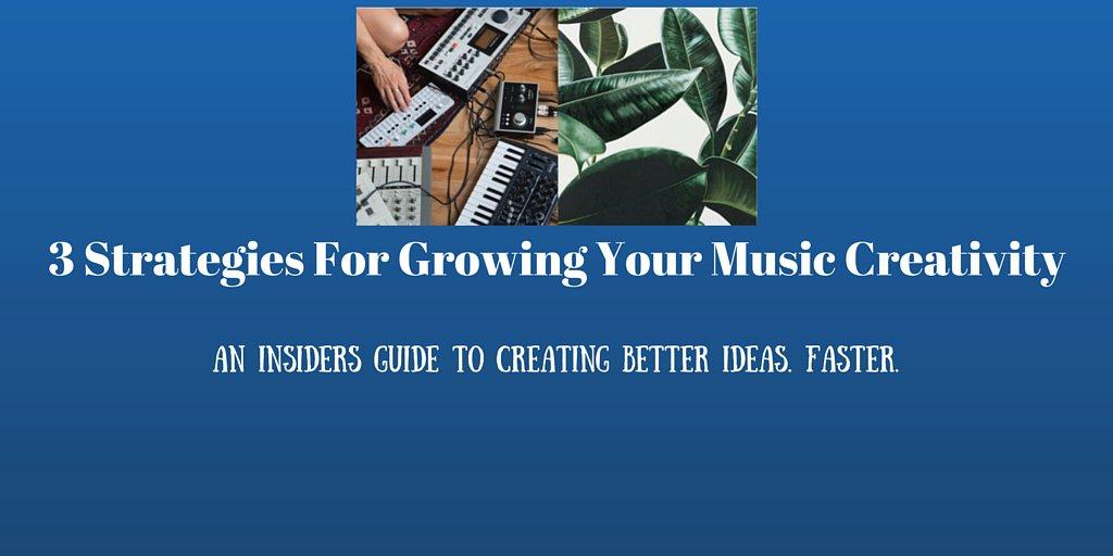 3 Strategies For Growing Your Music Creativity  http:// go.shr.lc/2cjQOGH  &nbsp;   @HorusMusic #musicbiz #musicians #creativity<br>http://pic.twitter.com/04hYrJWCGg