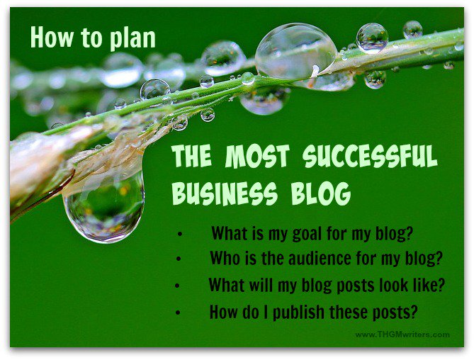 How to plan the most successful business blog
