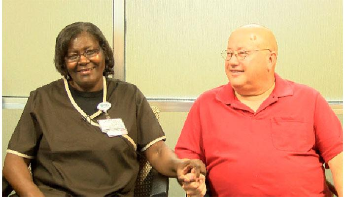 Charlotte hospital patient recognizes housekeeper who helped 'heal' him