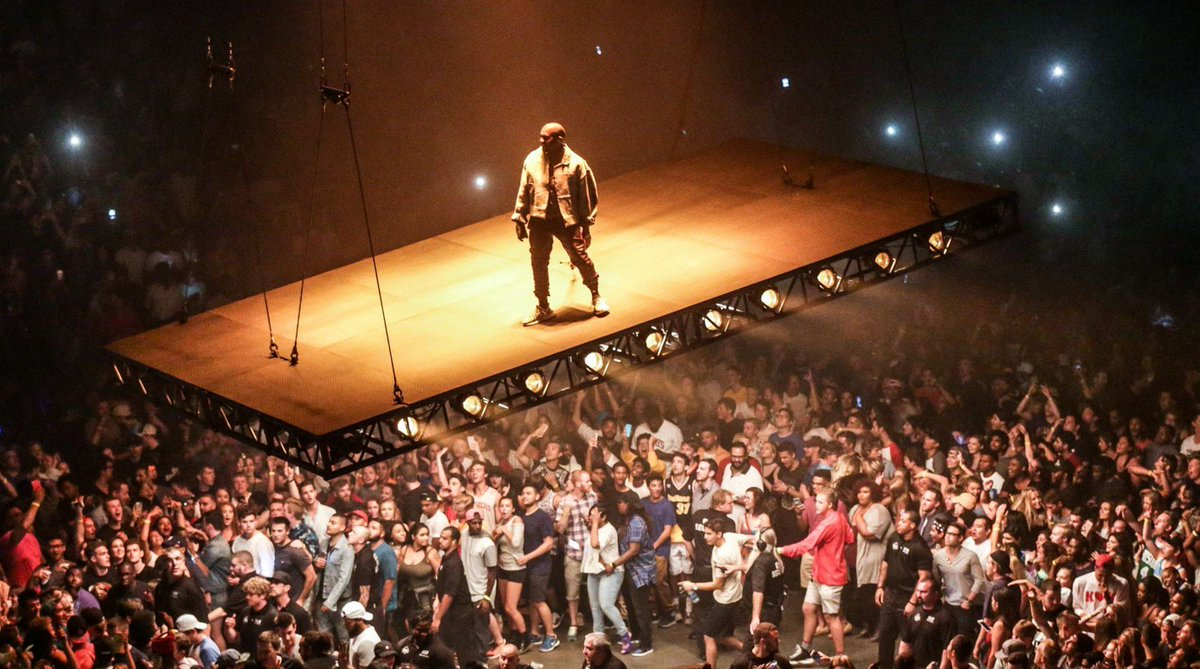 People will be talking about Kanye's Indy concert for years, says @317lindquist. Here's why